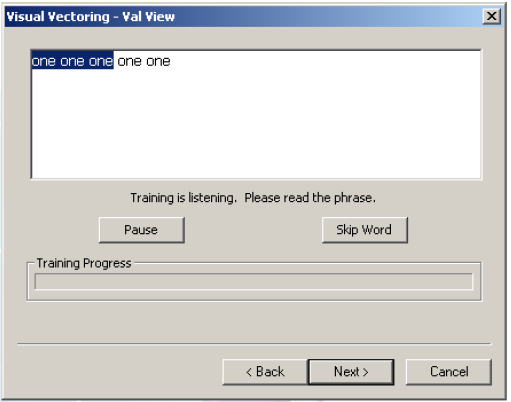 XP Training UI