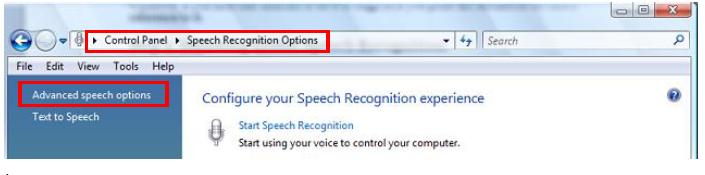 Speech Properties