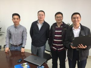Some of the expert ATC instructors at CAUC Tianjin
